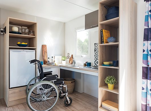 Mobil-home climatisé accessible PMR Les Mathes - 1